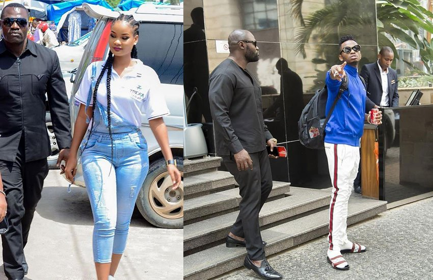Spotted! From Diamond Platinumz to Hamisa Mobetto, Mwarabu Fighter is now rolling with Tanzania´s rich kid Apocalypsebella