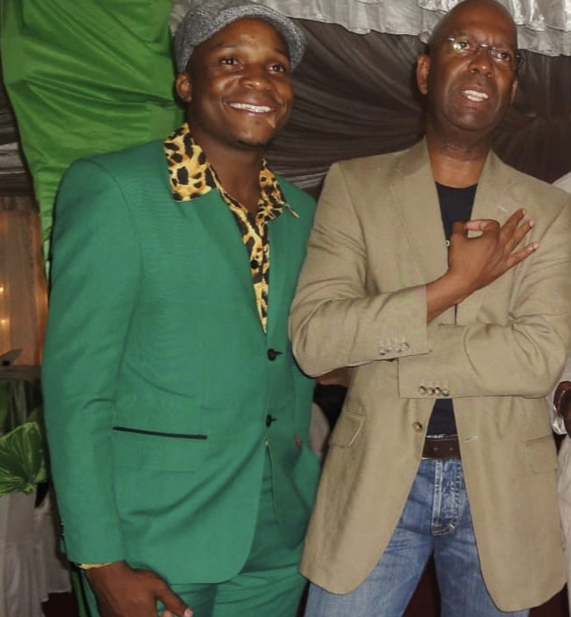 """The late Bob Collymore bought me my first green suit"" Jalang'o opens up!"