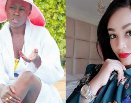 Akothee breathes fire on Diamond´s side chick in defense of Zari