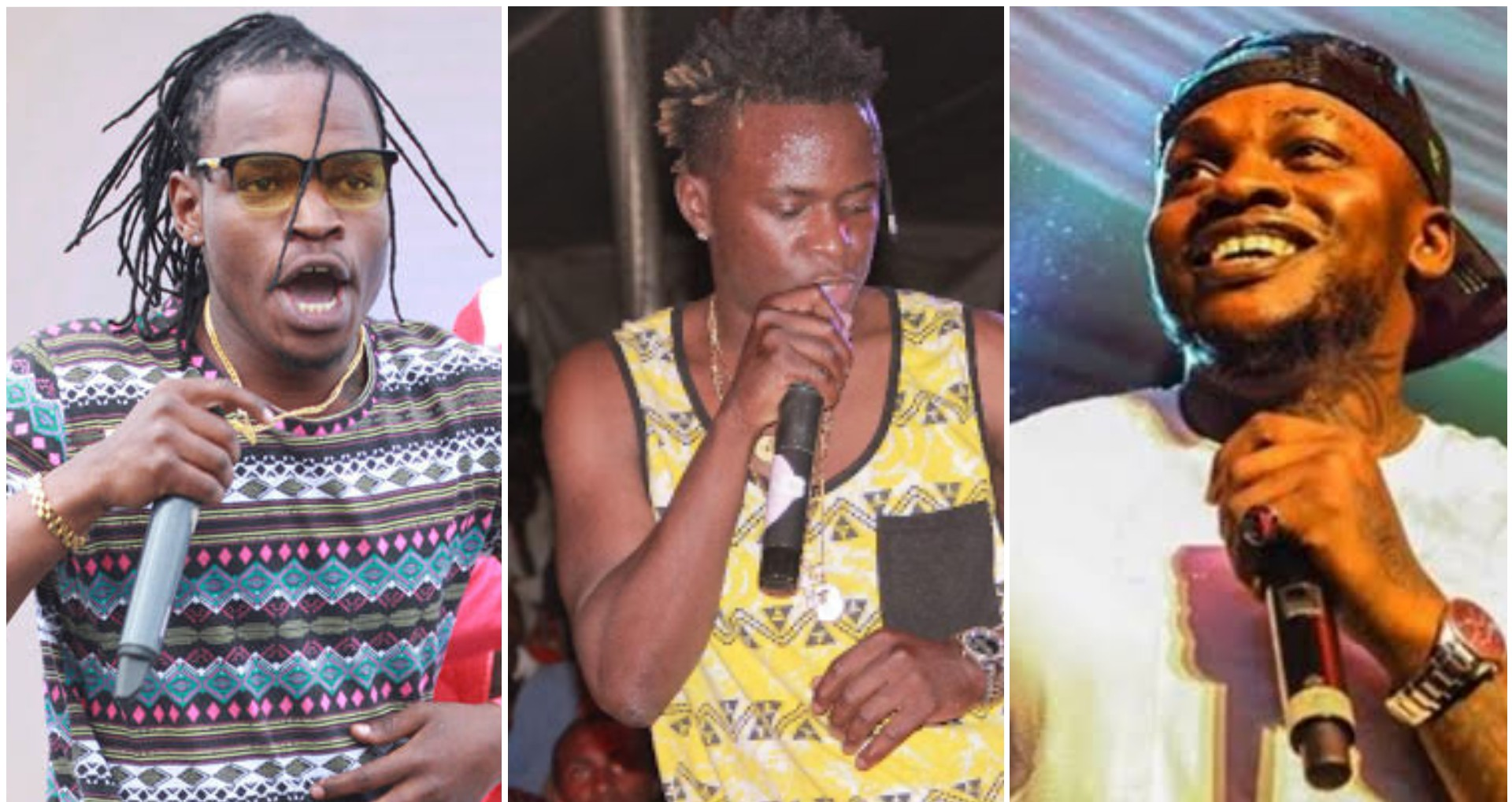 Timmy Tdat Vs Willy Paul Vs Khaligraph: Who is the best live performer?