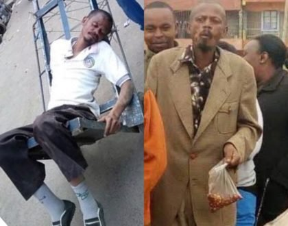 Githeri Man spotted dead drunk a few months after leaving rehab