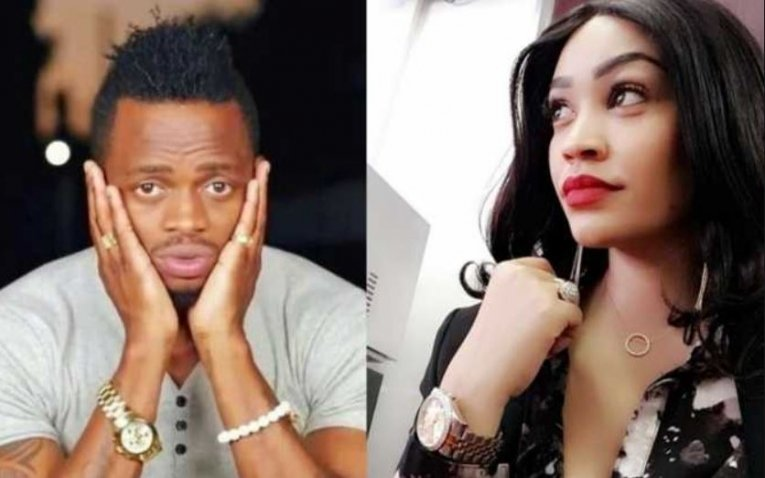 A stalking Zari Hassan misses after copy pasting Diamond´s sidechick´s hairstyle