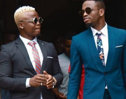 Harmonize deletes Diamond Platnumz tattoo from his arm replaces it with his mum's face