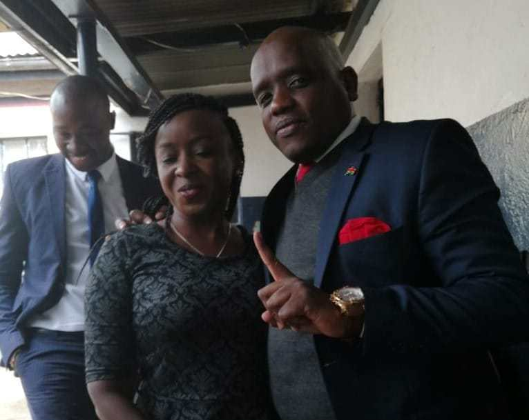 Best friends! Jacque Maribe and Itumbi spotted together at invites only party(photos)