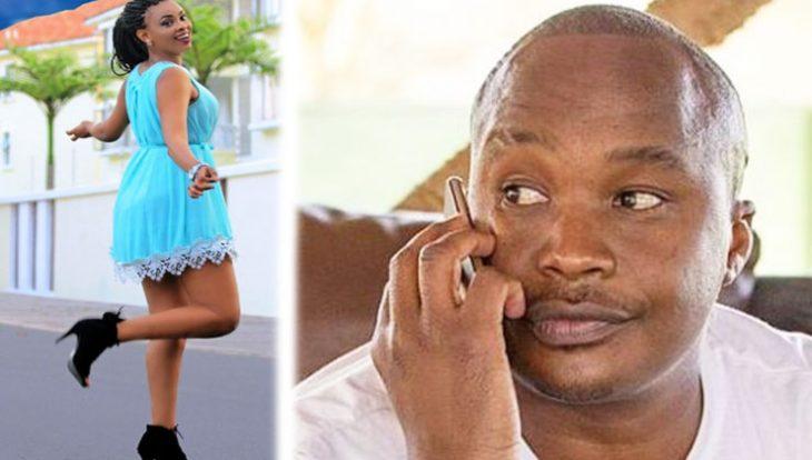 Engaged! Jaguar proposes to Tanzanian lover, Lulu Diva [photo]