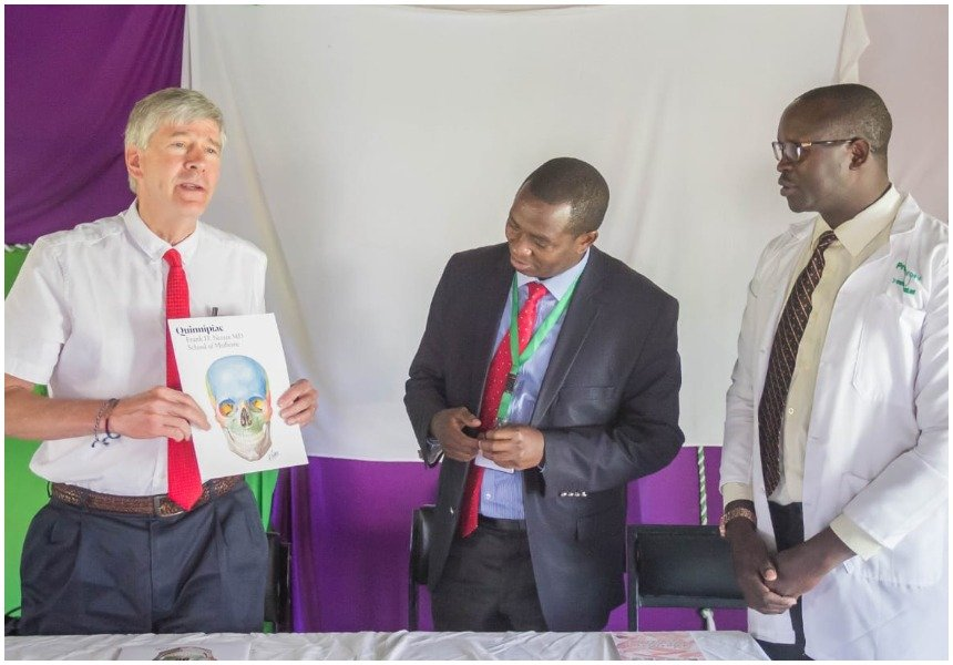 US medical experts train doctors in Laikipia in a bid to boost health sector