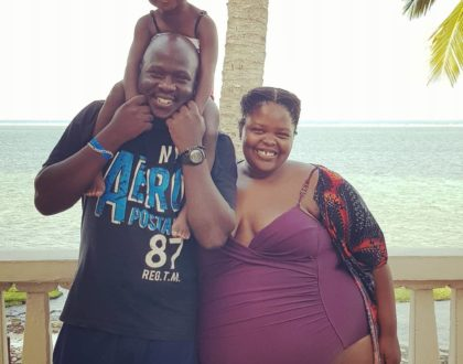 A follower called me a whale after sharing my vacation photos- Lynda Nyangweso
