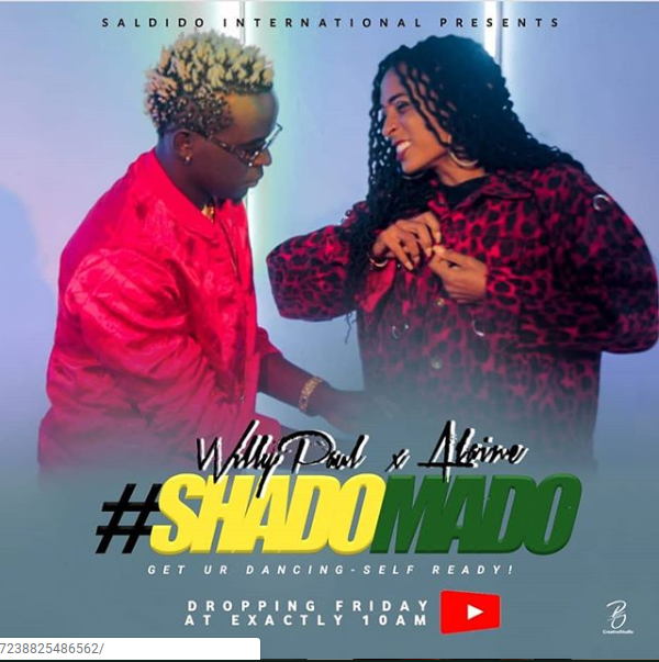 Well played! Alaine and Willy Paul made public stunt just for their new song release
