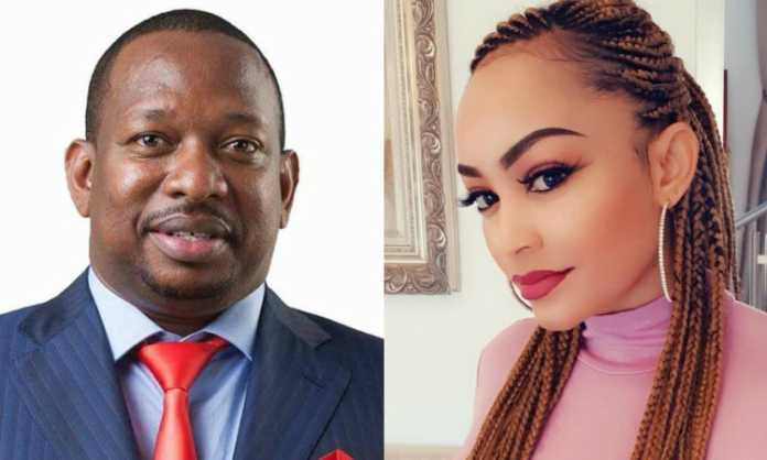 'I have a crush on Sonko and I hope I will meet him this December' Zari screams