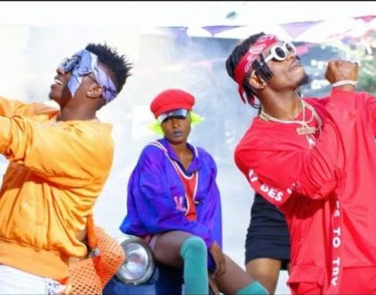 Videos: Diamond and Rayvanny bash Wasafi critics in new club banger ´Vumbi´
