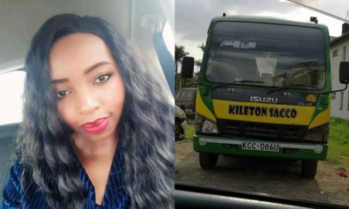 So sad! Photos of the beautiful young lady killed by matatu tout after being thrown out