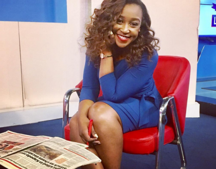 Betty Kyallo flaunts her new handsome man
