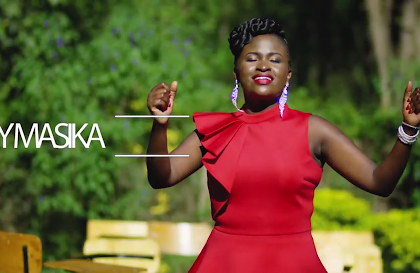 Mercy Masika, composer of Muite Yesu. She is a kenyan gospel artist