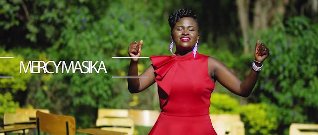 Mercy Masika, composer of Muite Yesu. She is a kenyan gospel artist