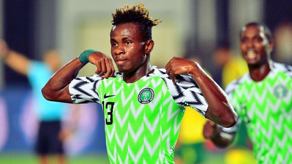 Nigeria's Chukwueze