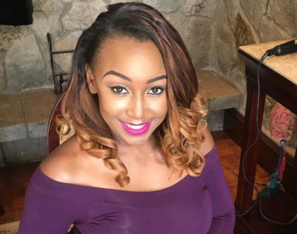 Shame after Betty Kyallo´s make-up artist does her injustice