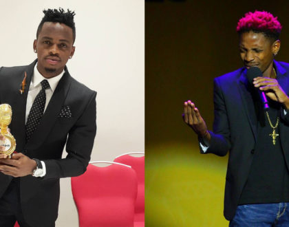 Eric Omondi and Diamond Platinumz to share a stage but leave out Kenya