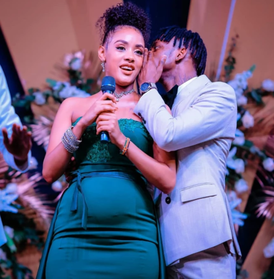 Tanasha Donna educates misinformed fans about pregnancy and tight clothes