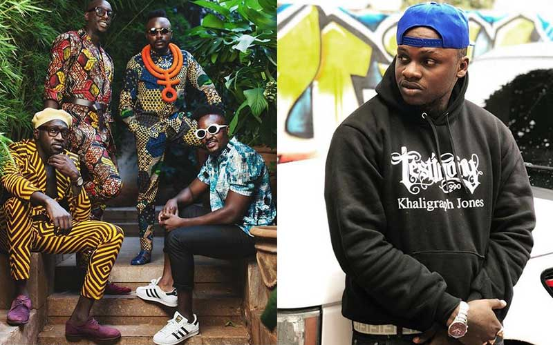 Sauti Sol counterattack after Khaligraph´s online diss
