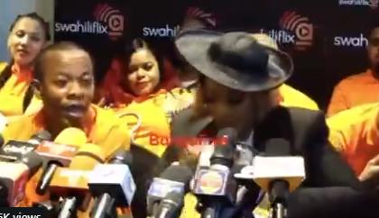Irene Uwoya apologizes after throwing money to journalists