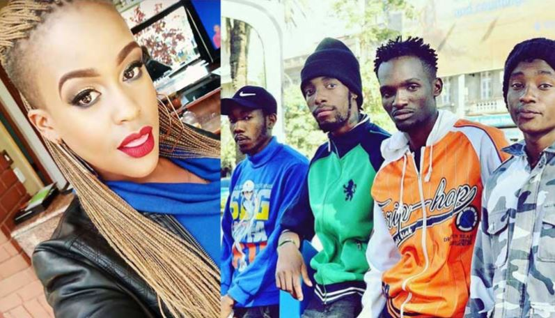 Kumbe! High chances that Kamene Goro is dating Ethic group´s Seska