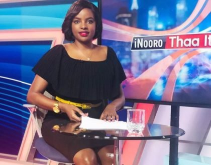 News anchor Muthoni:I was bullied coz I have a pointed nose. Imagine!