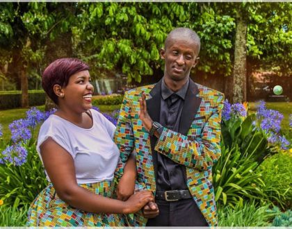 Njugush's wife explains why it's always good to have few close friends