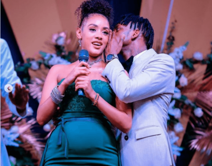 Tanasha explains how she managed to hide her baby bump for so long