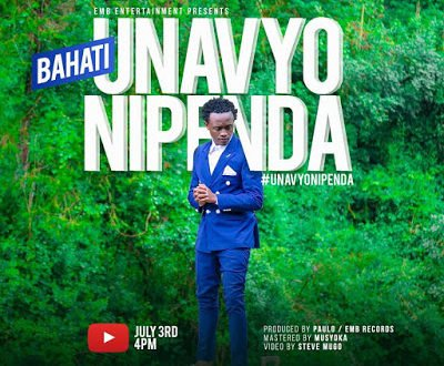 Bahati is back with a new single dubbed 'Unavyonipenda'