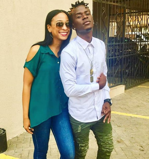 """Nandy is just a friend"" Willy Paul begs Jamaican singer Alaine to unblock him on social and stop giving him blueticks"