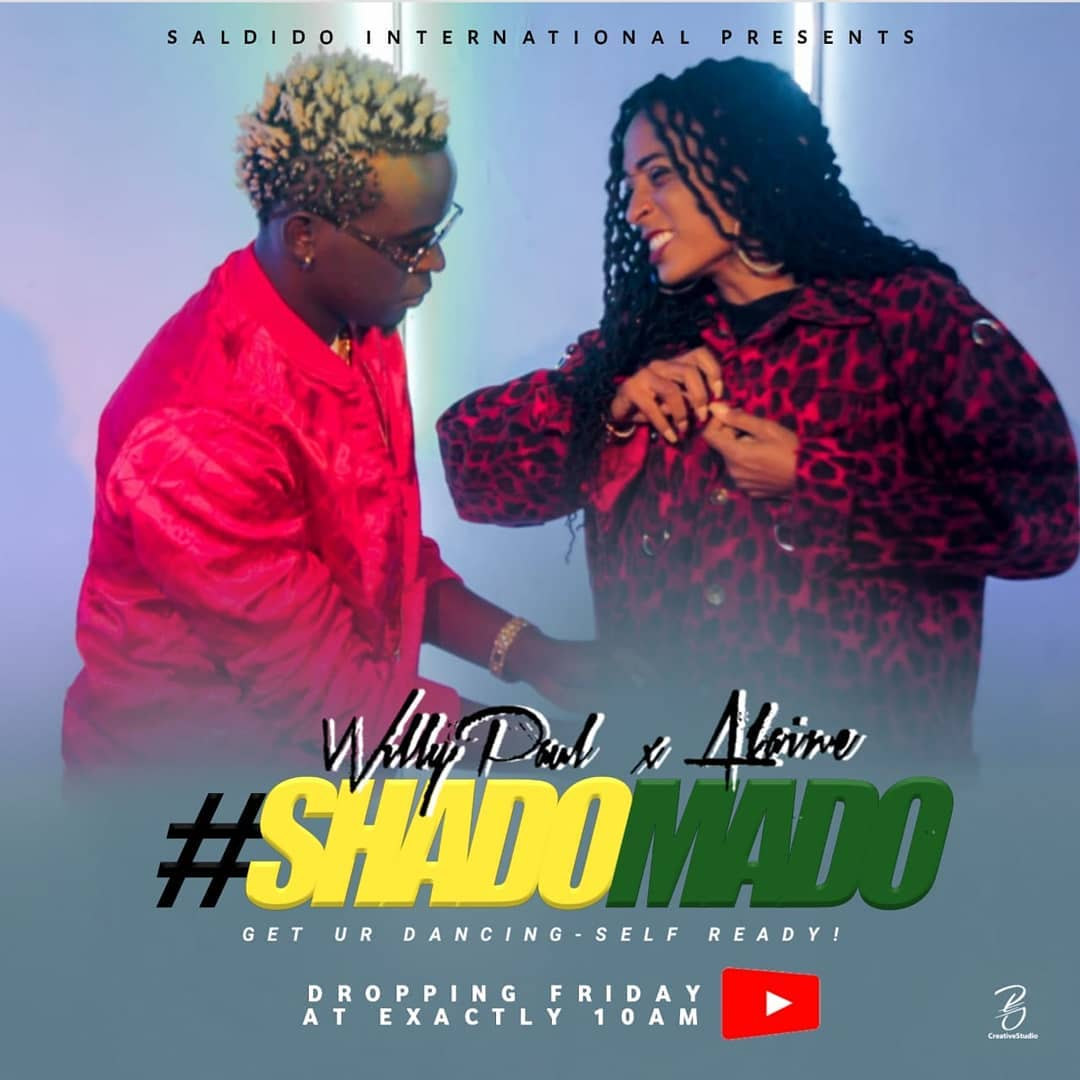 Willy paul Features Alaine in Shado mado