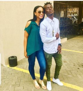 Willy Paul and Alaine in their new jam Shado Mado