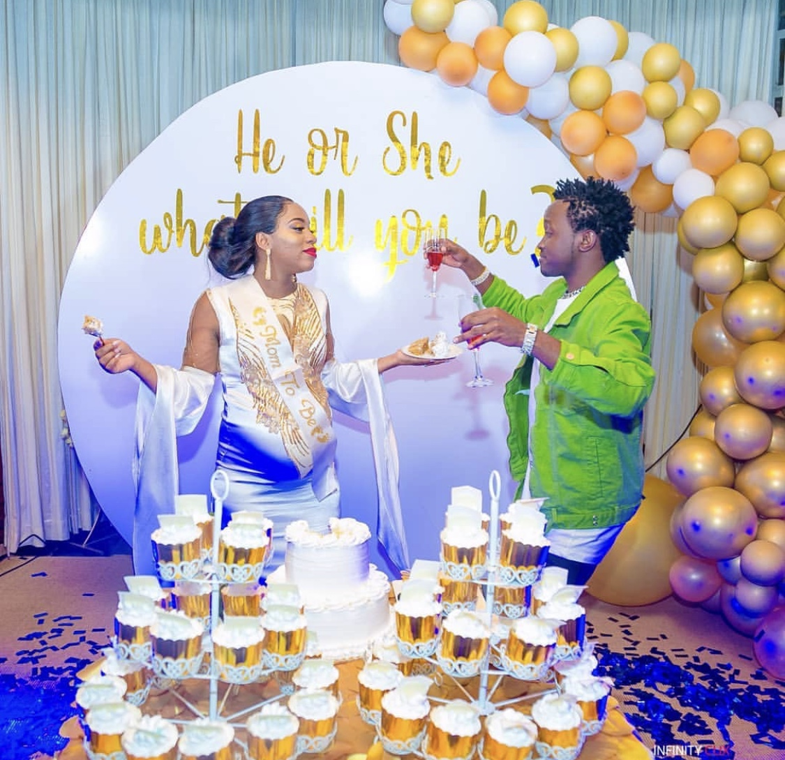 It's a baby boy! The Bahati's finally announce their unborn baby's gender