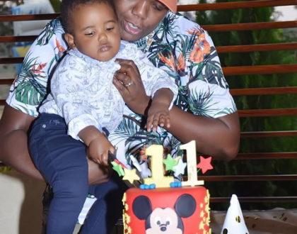 AY and wife throw lavish birthday as their son turns 1! (Photos)