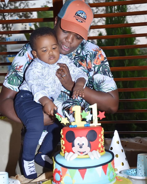 AY and wife throw lavish birthday as their son turns 1! (Photos)