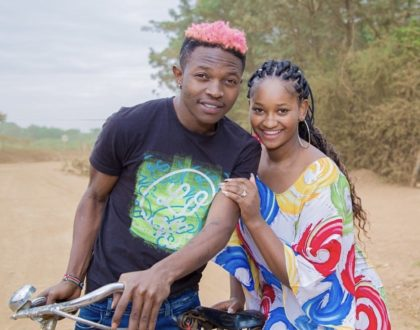 Family business? Mr Seed features his wife on his latest project