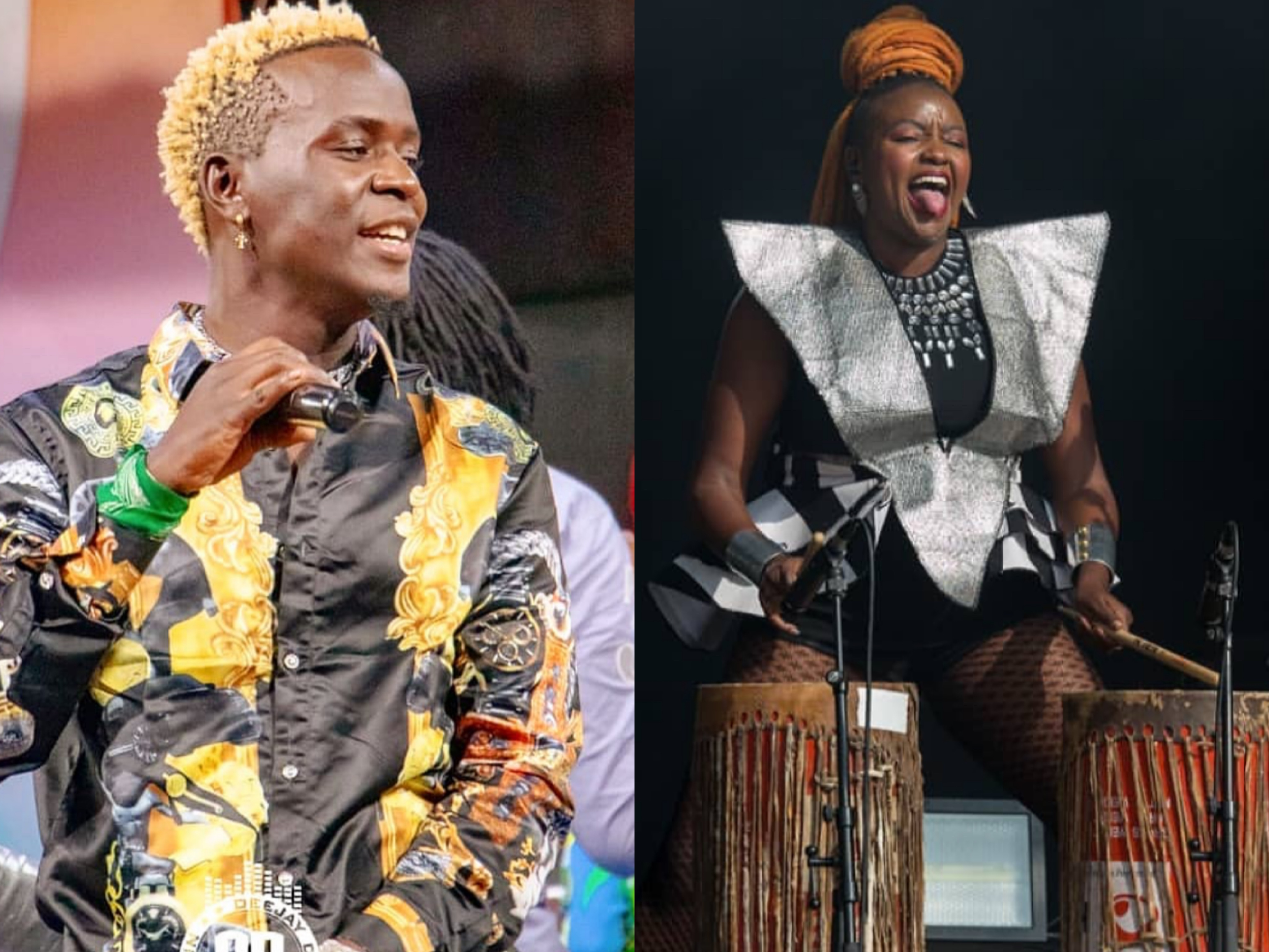 """""""Willy Paul is not the b*llsh!t here"""" Muthoni Drummer Queen advises singer to ditch the Church crowd"""