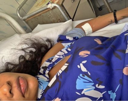 Wema Sepetu hospitalized over the weekend
