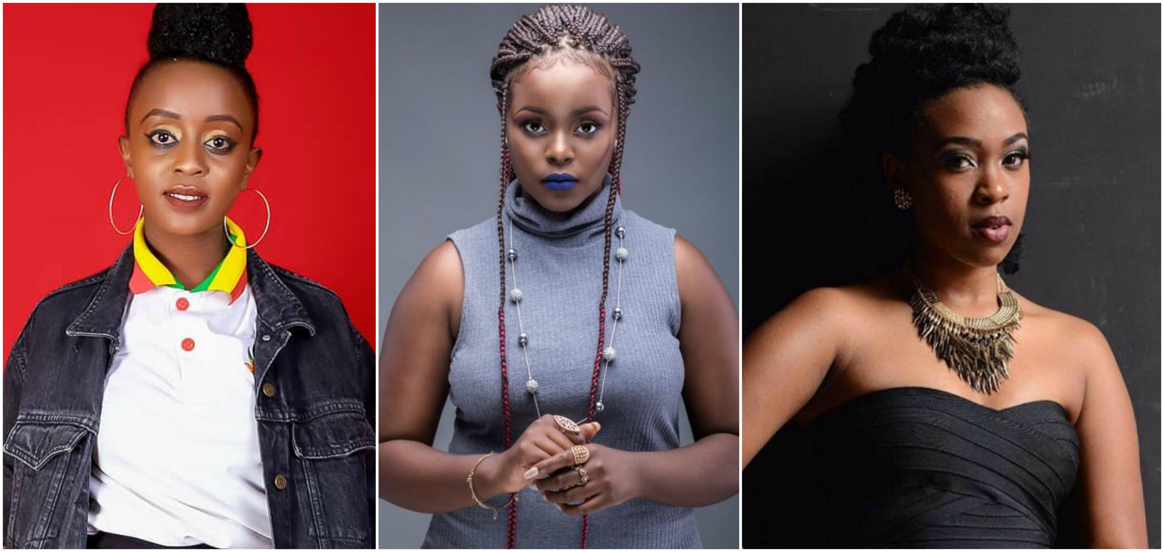 Nadia Mukami Vs Bridget Blue Vs Trina Mungai: Who is the best new female artist?