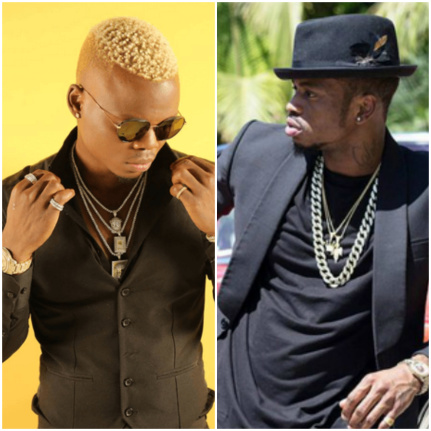 Who is fooling who? Harmonize freely walks into Mama Dangote´s compound while Diamond accuses him of greed [videos]