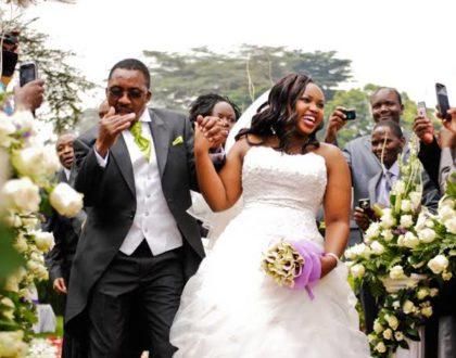 """Nitapelekana wapi na mama mzee"" Pastor Ng'ang'a reveals why he married a young wife"