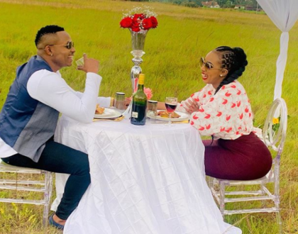 Sensual bedroom video of Otile Brown with socialite, Amber Ray goes viral