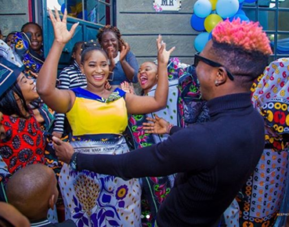 Mr Seed weds Nimo Gachuiri in a fun-filled traditional ceremony [photos]