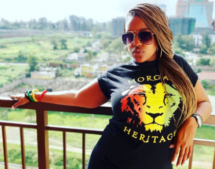 Kamene Goro stylishly claps back after fan asked her to hit the gym for her sagging arms