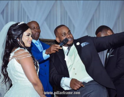 Photos: Genge rapper Madtraxx celebrates his 1 year wedding anniversary like it was just yesterday