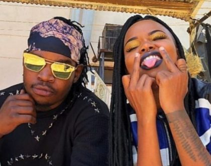 Timmy Tdat's bae Rosa Ree has thrown major shade in her new jam 'Nguvu Za Kiume'(Video)