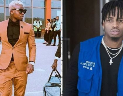 Diamond speaks for the first following feud with Harmonize [interview]
