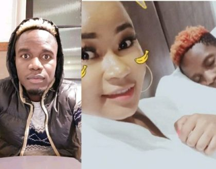 Assumpta Waeni pleads with boyfriend for forgiveness a month after being spotted in bed with Eric Omondi