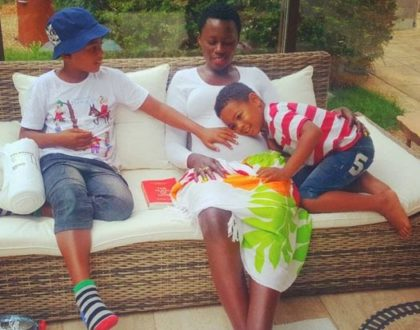 """Nitaambia watu nini"" Akothee announces she is pregnant with baby number 6!"