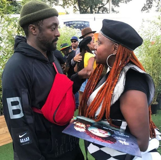Muthoni Drummer Queen chats with Will.I.Am